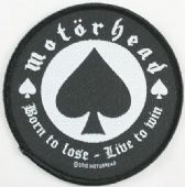 Motorhead - 'Born to Lose' Woven Patch